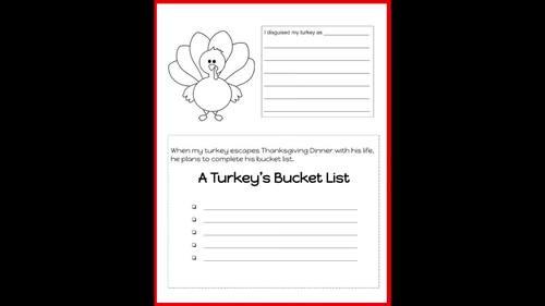 Kindergarten Printables: Fall and Thanksgiving