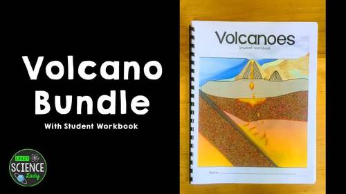 Volcano Bundle (with Student Workbook!)- Distance Learning Packet