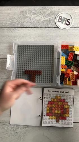 Snap Together Stories Seasonal Bundle (Building Brick/LEGO Pattern Cards)