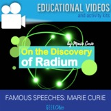 "Famous Speeches Marie Curie ""On the Discovery of Radium"" V"