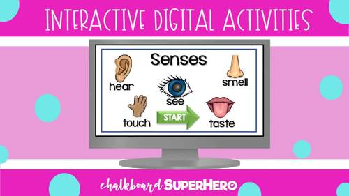 The Living & non Living interactive digital activity