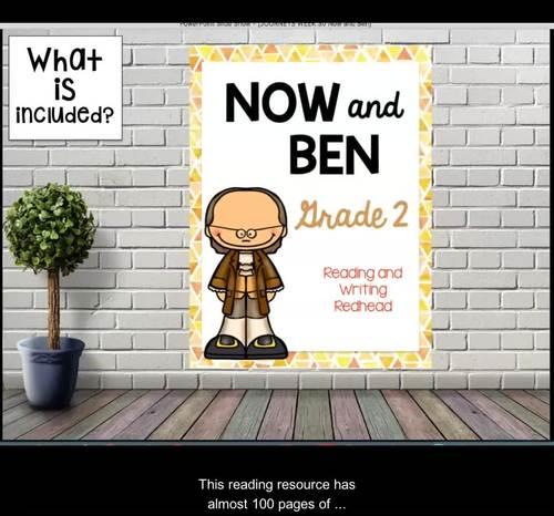 Now and Ben Journeys Second Grade Week 30