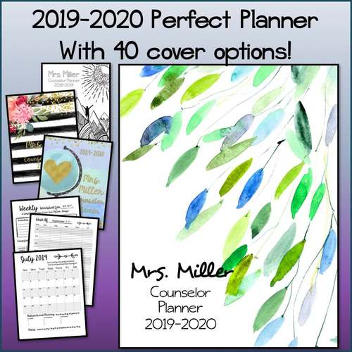 Perfect Counselor Planner Binder