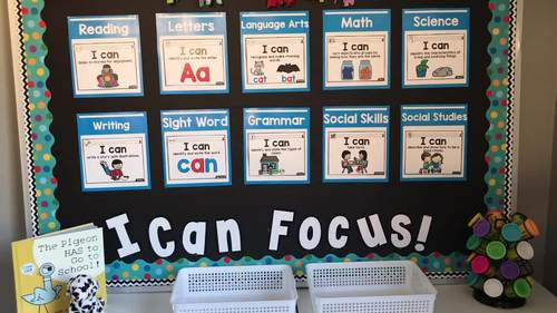 Focus Wall (Pre-K, K, and 1st)