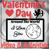 "February Valentine's Day - ""I Love You"" Around the World V"