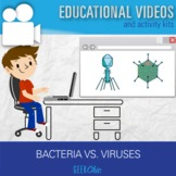 Bacteria and viruses video kit!