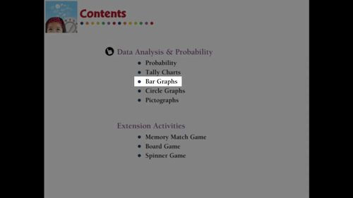 Data Analysis & Probability: Bar Graphs Practice the Skill 3 NOTEBOOK Gr. PK-2