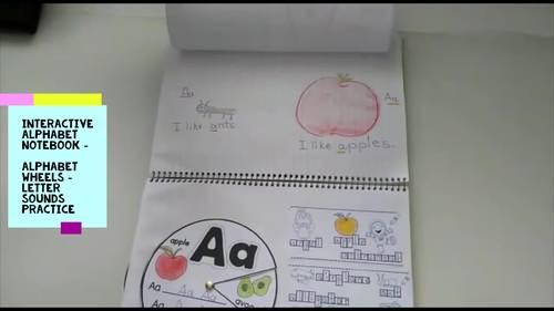 ❤️-Letter Recognition Alphabet Wheels-