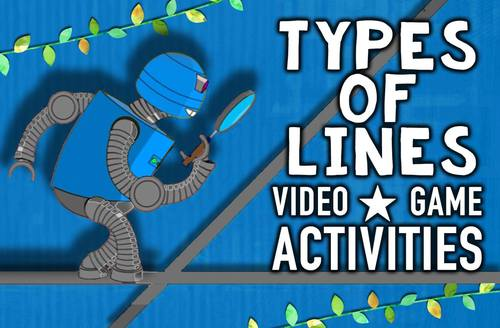 Types of Lines Multimedia Lesson: Parallel, Perpendicular and Intersecting Lines