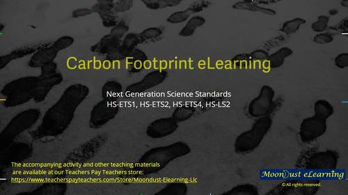 Carbon Footprint - CO2/O2 Video