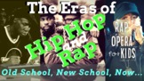 """""""Too Legit to Quit!"""" Hip Hop History, Reading Activities R"""
