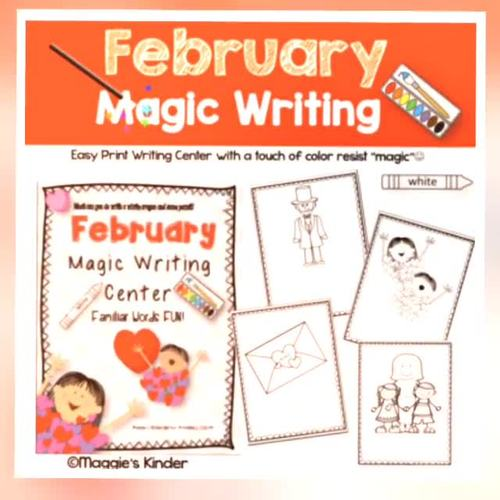 February Activities for Writing and Reading Bundle