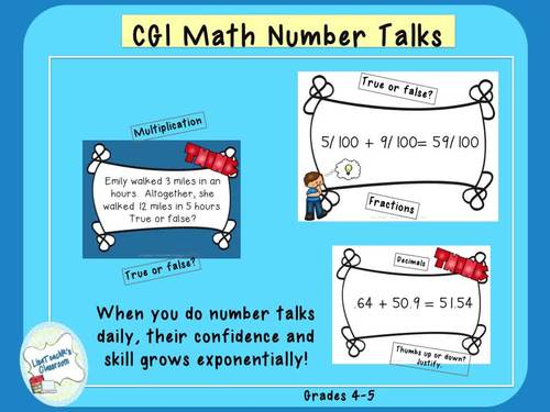 CGI Math Number Talks