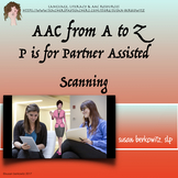 AAC Tips A to Z   P is for Partner Assisted Scanning
