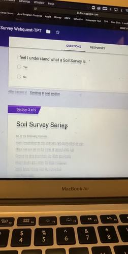 Soil Survey Webquest