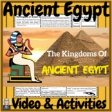 Ancient Egypt The Kingdoms of Egypt Video & Activities!