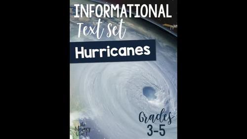 Informational Text Set {Hurricanes}