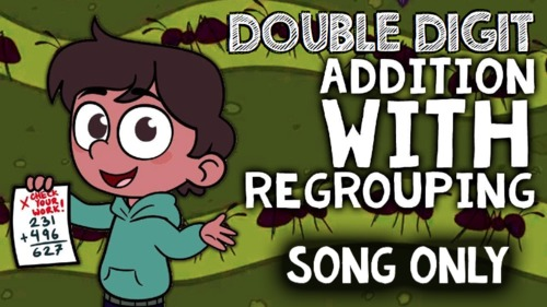 Double Digit Addition with Regrouping: 2-Digit Addition for 1st Grade-2nd Grade