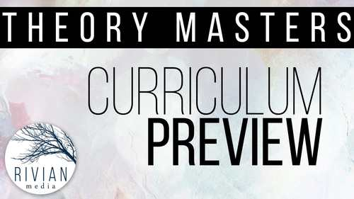Theory Masters: A Theory Curriculum Level 3 Print & Digital, Distance Learning
