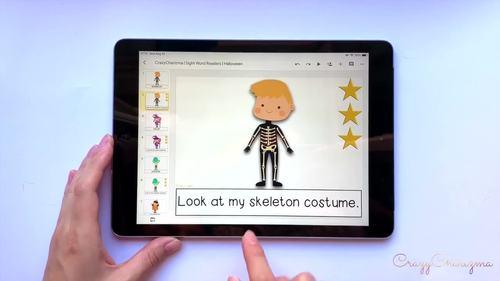 Halloween Activities Kindergarten Halloween Emergent Reader Sight Word Readers