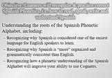 Spanish Phonetics: Lesson 1 (History, Grammar & Cognates)