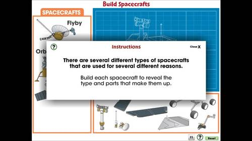 Space Travel & Technology: Build Spacecrafts - PC Gr. 5-8