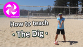 How to teach Volleyball - The Dig - PE sport skills grades 3-6