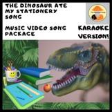 Japanese Song & Video: The Dinosaur Ate my Stationery KARA