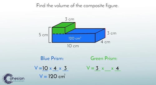 Calculate the Volume of Composed Figures