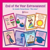 End of the Year Writing Crafts BUNDLE