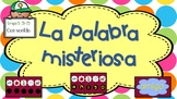 "La Palabra Misteriosa ""Grupo 3"" (51-75) SONIDO / Sight wor"