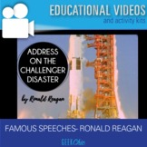 Famous Speeches Reagan Address on the Challenger Disaster