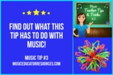 Music Teacher Tip #3: SPHERE TEACHING MANIPULATIVE