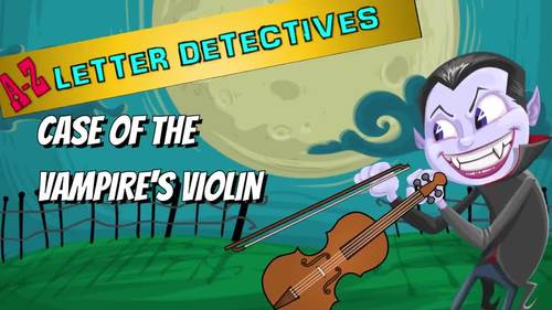 Letter V Activities in a Mystery - Easy prep Worksheets! Alphabet Detectives