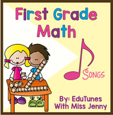 Common Core 1st Grade Math Downloadable Songs and Lyric Book
