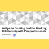 Video: 10 tips for a positive working relationship with pa