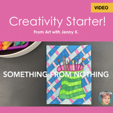 Distance Learning Teaching Video: Creativity Starter - Som