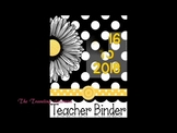 How to make your own customized teacher planner binders