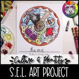 Culture & Identity Mandala, Social Emotional Learning Art Lesson