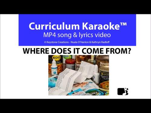 'WHERE DOES IT COME FROM?' ~  READ, SING & LEARN l Distance Learning