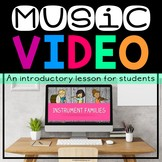 Instrument Families Video (Great For Music On A Cart & Mus