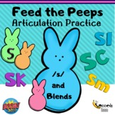 Feed the Peeps: Articulation Practice /s/ & blends {Digita