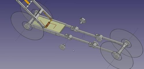 3D Printed Mousetrap Powered Car - Printable Model Files