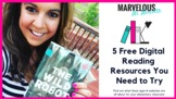 5 Free Digital Reading Resources You Need to Try {Video}