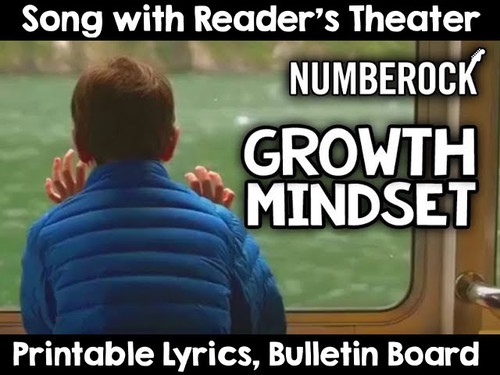Growth Mindset ★ Back To School Activities With Bulletin Board & Readers Theater