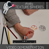 Shading Texture Spheres Video Demonstration