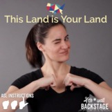 This Land is Your Land - American Sign Language Instructio
