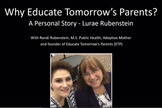 Why Educate Tomorrow's Parents?  Lurae's Personal Story