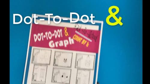 Back To School- Dot-To-Dot and Graph- Count by 1s