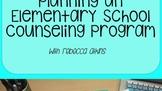 Planning an Elementary School Counseling Program
